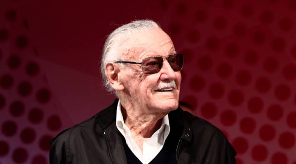 Comic book writer Stan Lee attends a talk show during the Tokyo Comic Con in Chiba, a suburb of Tokyo, on Dec. 2, 2016.