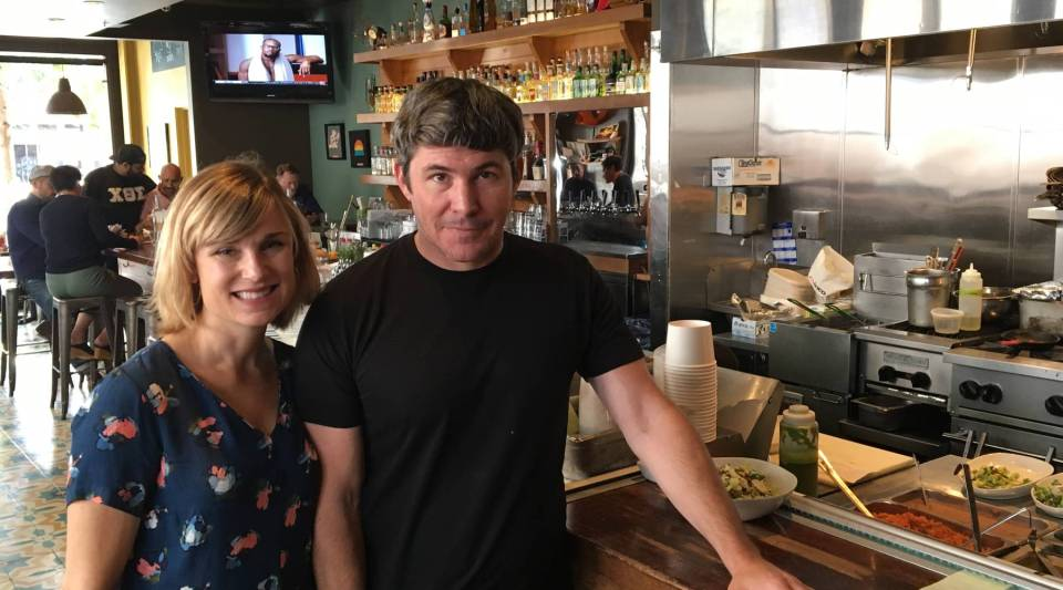 Sara Deseran and Joe Hargrave have made changes to their restaurant to adapt to third-party apps.