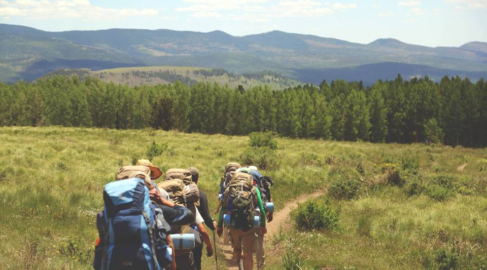 Hiking is one of the many activities included in the outdoor economy.