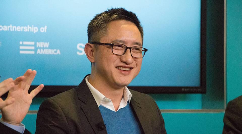 Filmmaker Hao Wu at Future Tense in Washington, D.C., in 2017.