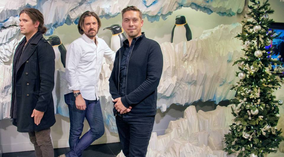 "The brothers in Hanson — Zac, Taylor and Isaac — are reissuing their 1997 holiday album ""Snowed In"" this year. Their second holiday album, ""Finally it's Christmas,"" came out in 2017."