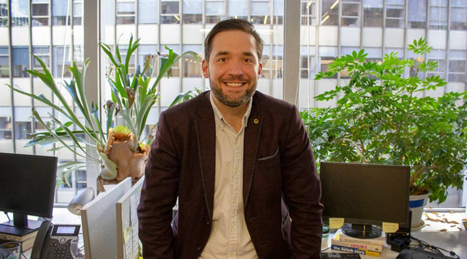 """I think that now is a better time than it's ever been if you have a hobby, if you have a passion, and you're building a following on Instagram ... to potentially turn into something that could be a real business,"" Alexis Ohanian says."