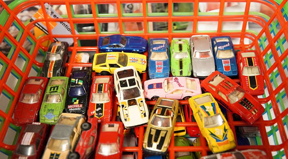 There are more than 20,000 variations of Hot Wheels, according to Mattel.