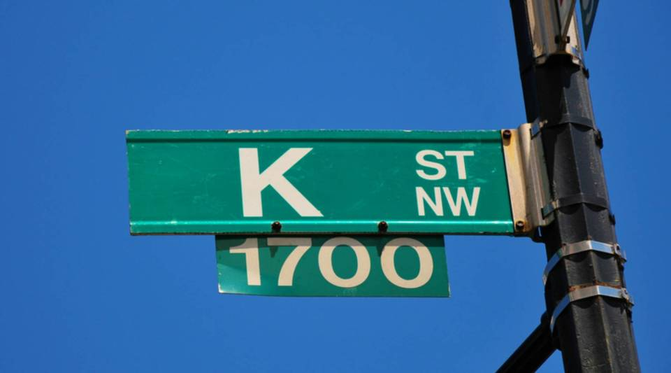 K Street is ground zero for the influence-peddling business in Washington, D.C.