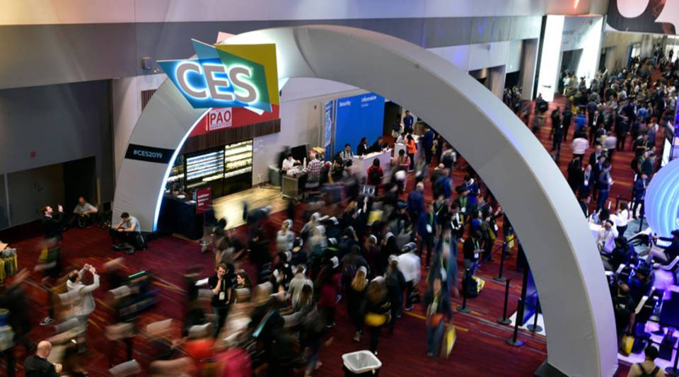 Attendees walk along during CES 2019 at the Las Vegas Convention Center on January 8, 2019 in Las Vegas, Nevada.