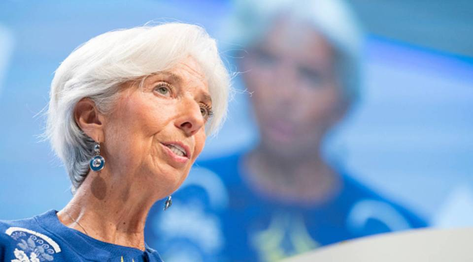 International Monetary Fund Managing Director Christine Lagarde speaks at the Plenary session during the IMF/World Bank Annual Meetings Oct.13, 2017.