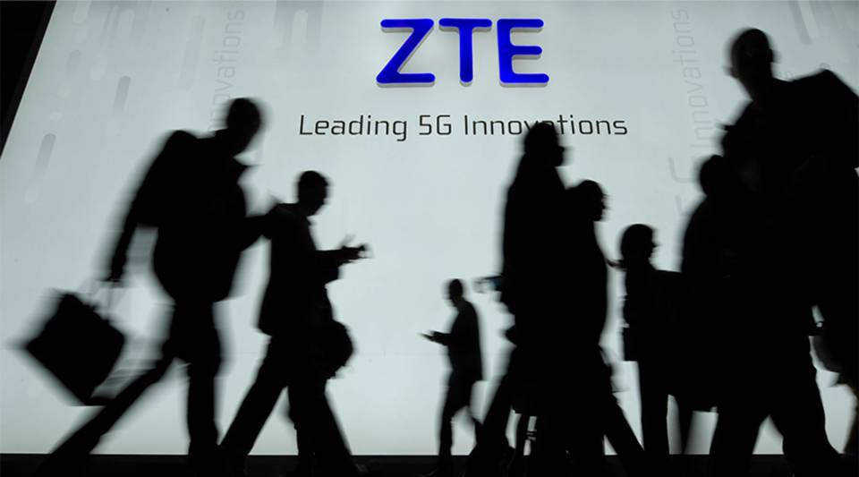The FCC is considering a ban on Chinese telecom hardware like that made by telecom giant ZTE.