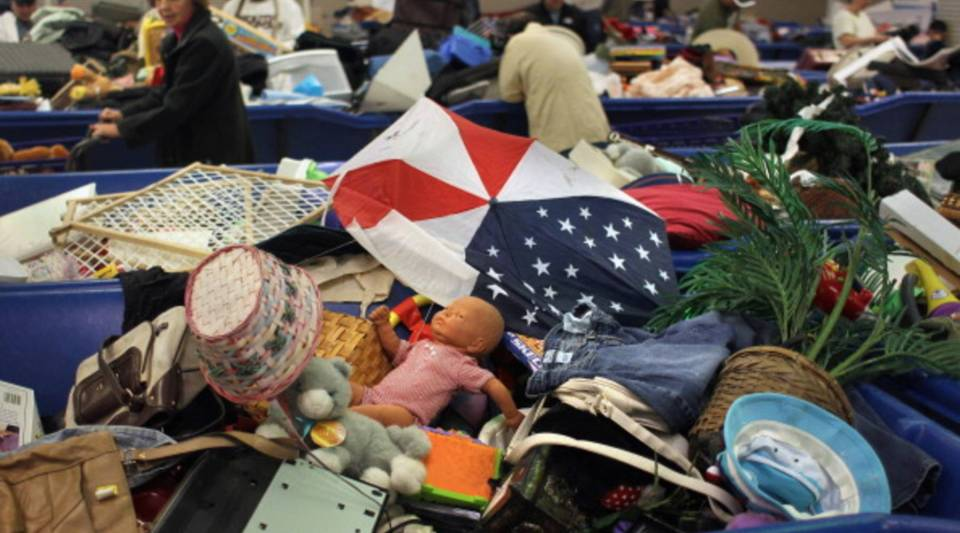 Goodwill is reporting a spike in donations.