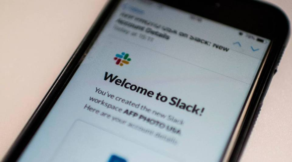 Office communication services company Slack has applied with the SEC to list shares publicly.