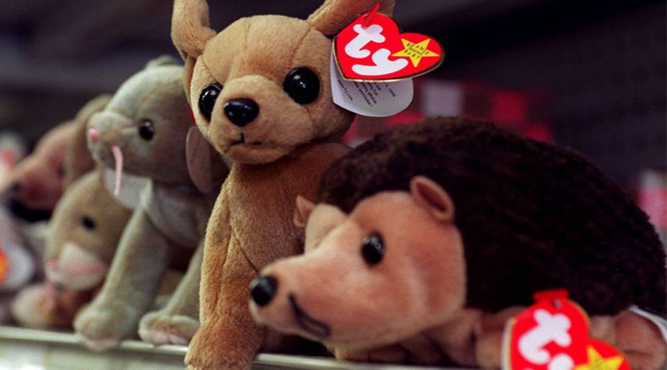 The Beanie Baby craze in the '90s is an example of hobby investing.