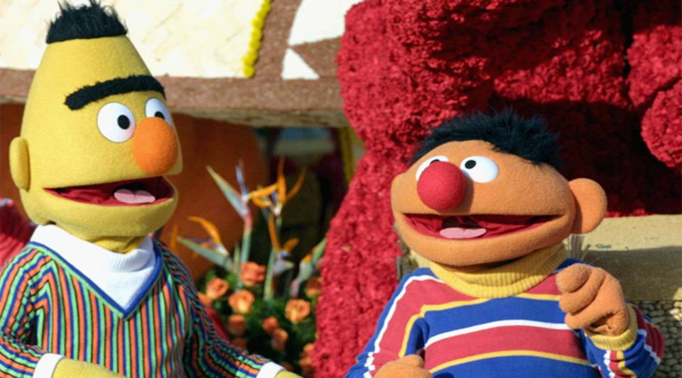 Bert (L) and Ernie (R).