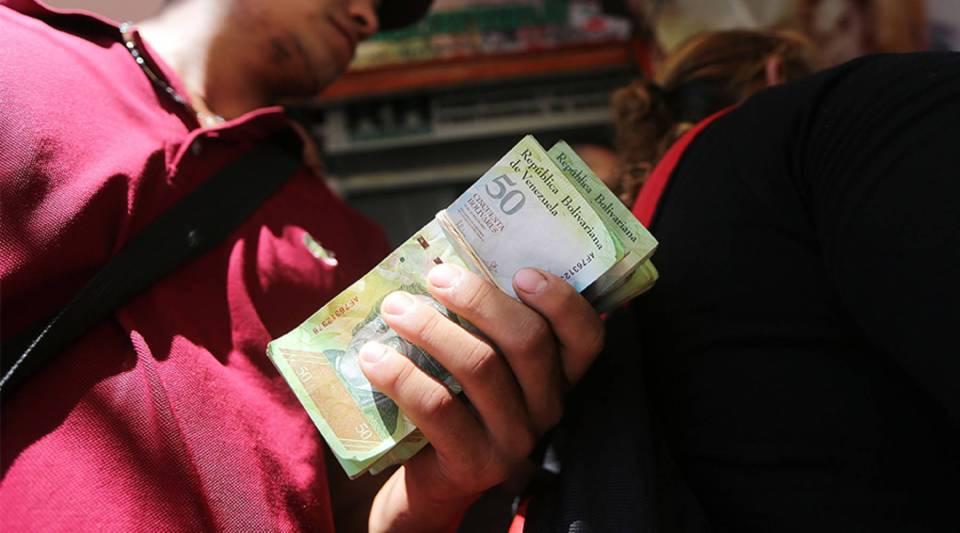 """Hyperinflation is destroying everything,"" saysJuan Carlos Senior, a lawyer in Caracas, Venezuela."