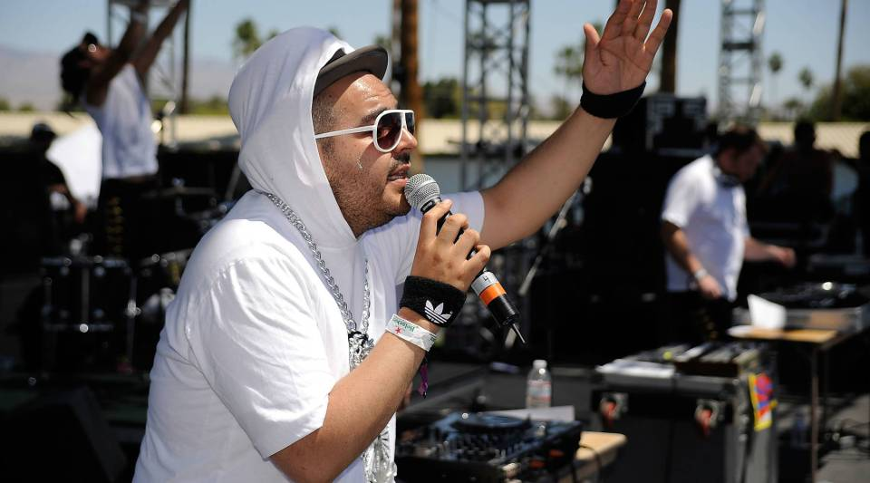 Camilo Lara of Mexican Institute Of Sound performs during day one of the Coachella Valley Music & Arts Festival held at the Empire Polo Club on April 19, 2009 in Indio, California.
