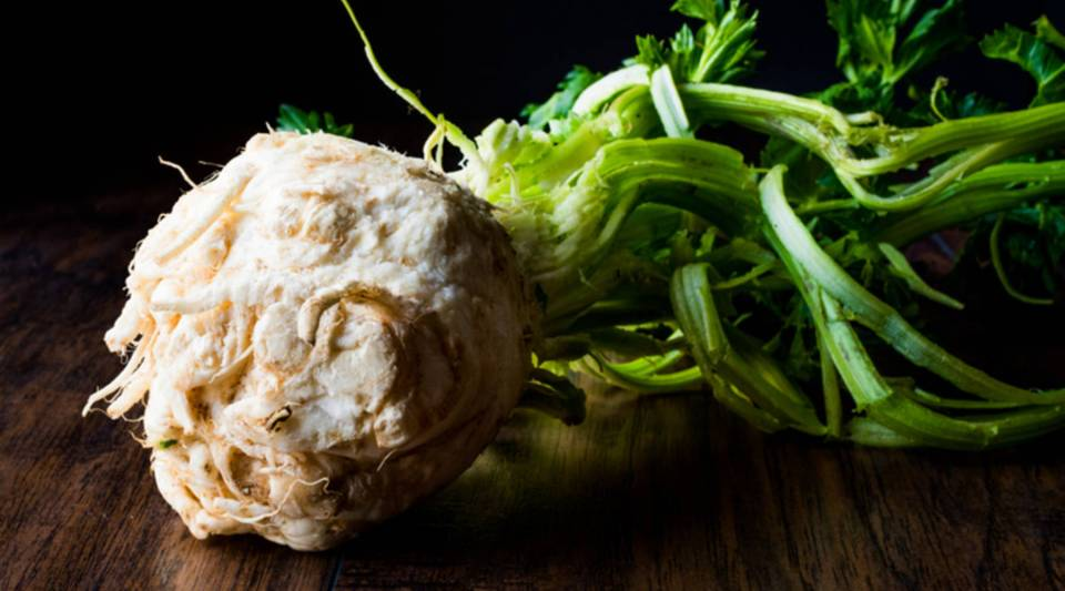 """The """"Nordic Diet,"""" made popular by Scandinavian chefs, consists of whole grains, berries and vegetables like celeriac."""