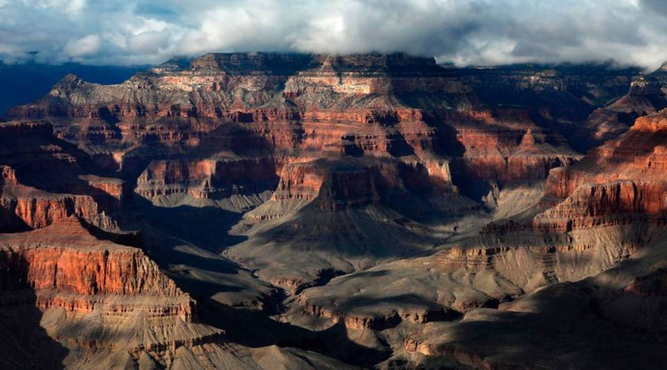 A general view of the South Rim of the Grand Canyon in Grand Canyon National Park, Arizona, on Feb. 13, 2017.