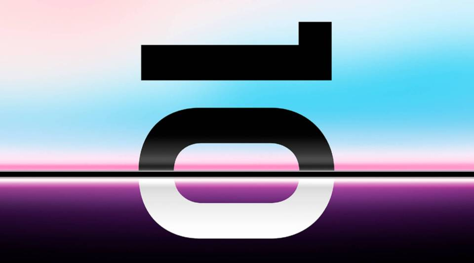 Promotional image for Samsung Galaxy S10