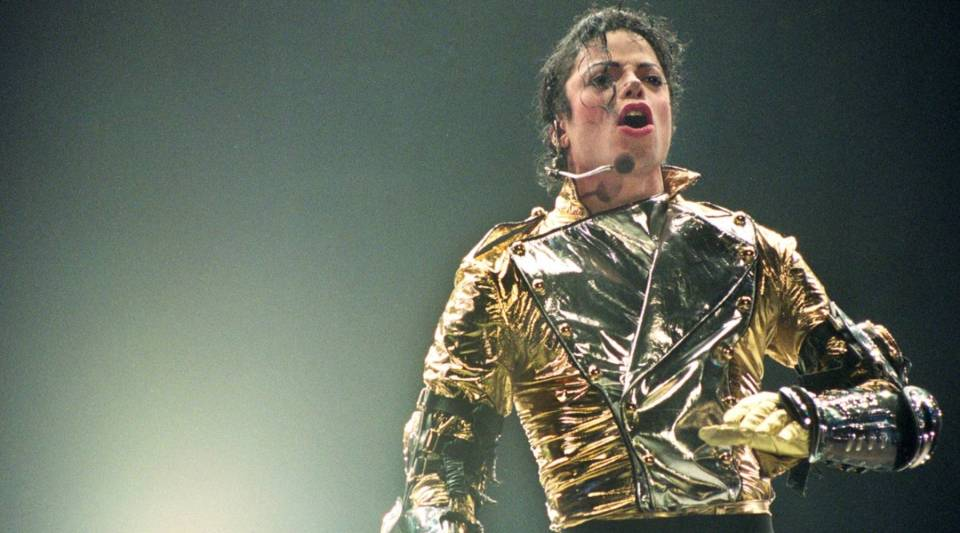 "Michael Jackson performing at a New Zealand concert back in 1996. The new HBO documentary ""Leaving Neverland"" chronicles sexual abuse allegations against the singer."