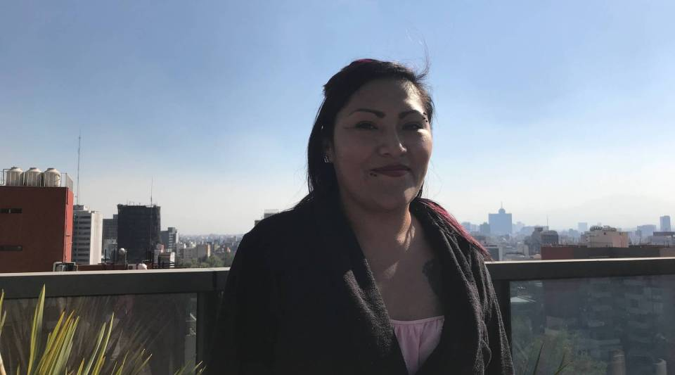 Jessica Gonzalez, an immigrant who grew up in Arizona, returned to Mexico after the signing of sweeping immigration law known as SB 1070.