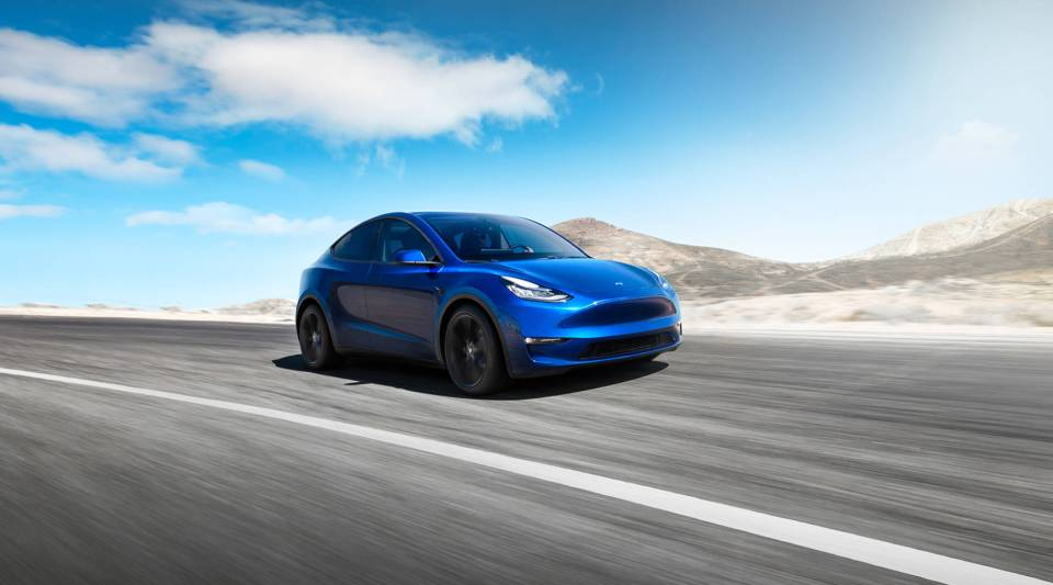 Tesla Model Y promotional photo