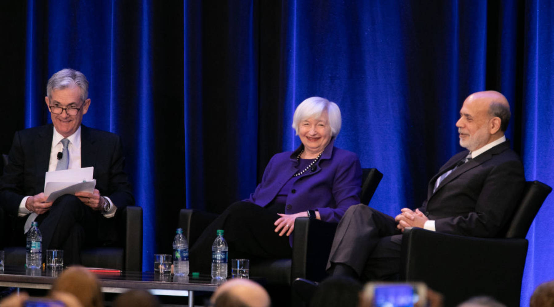 Image result for bernanke, yellen, powell