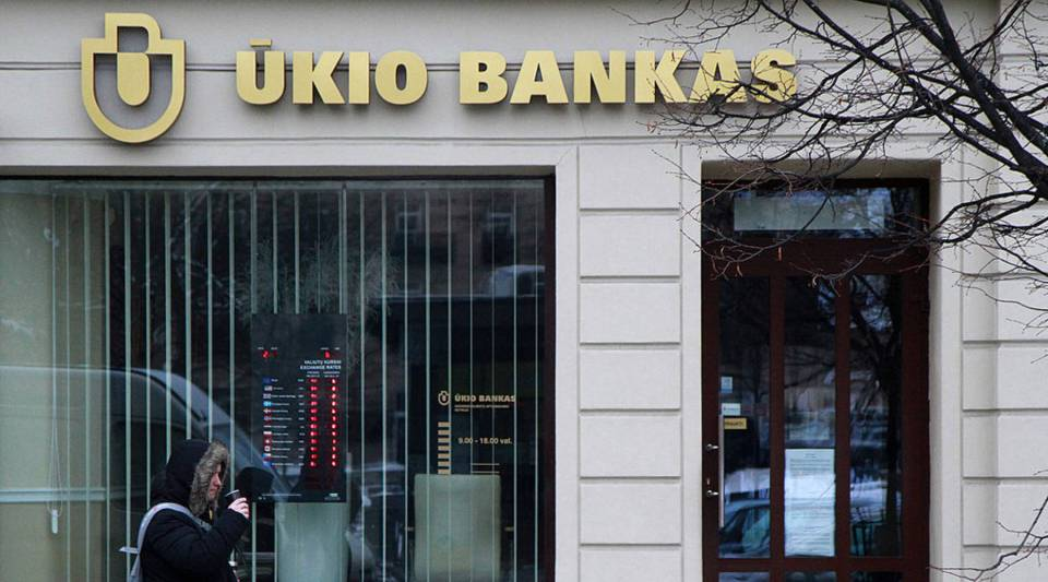 Money launderers funneled money through companies set up by offshore banks like Ukio in Lithuania.