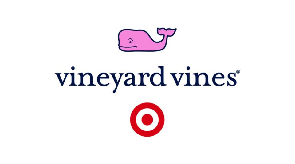 Vineyard Vines — known by its whale logo — will offer a limited line of summer clothing at Target.