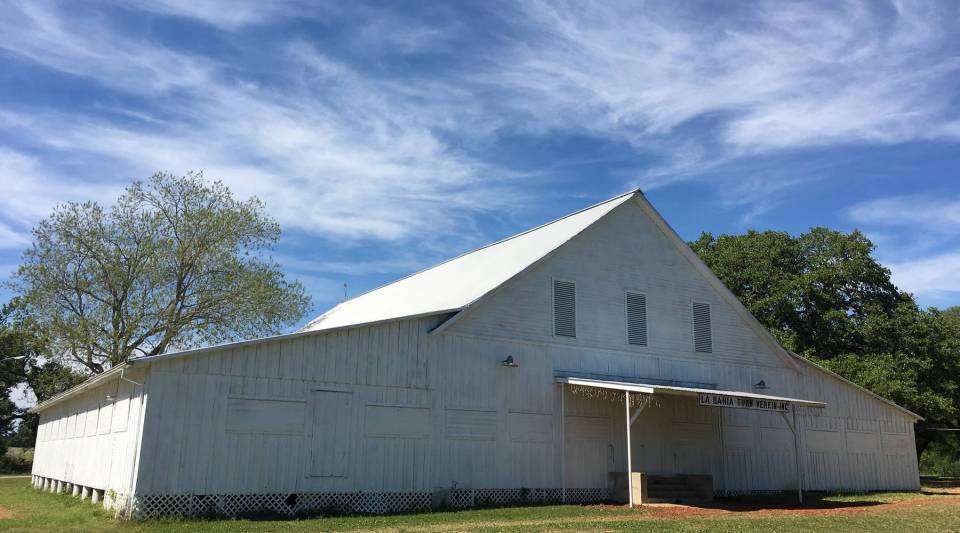 La Bahia Turn Verein, a rural dance hall built in the early 1900s near Burton, Texas.
