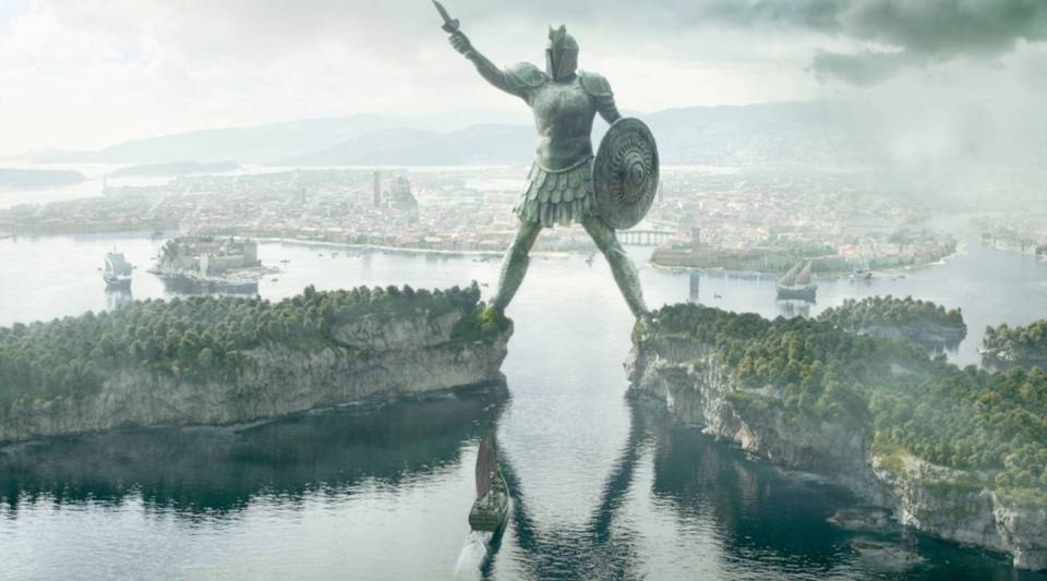 """A view of Braavos, one of the Free Cities in """"Game of Thrones,"""" which is where the Iron Bank is located."""