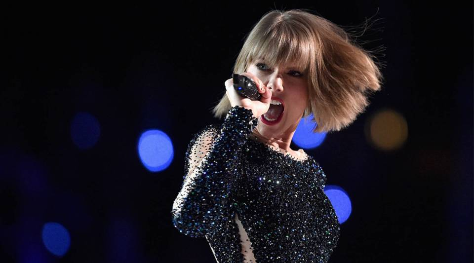 Taylor Swift performs onstage during The 58th GRAMMY Awards at Staples Center on February 15, 2016 in Los Angeles, California.