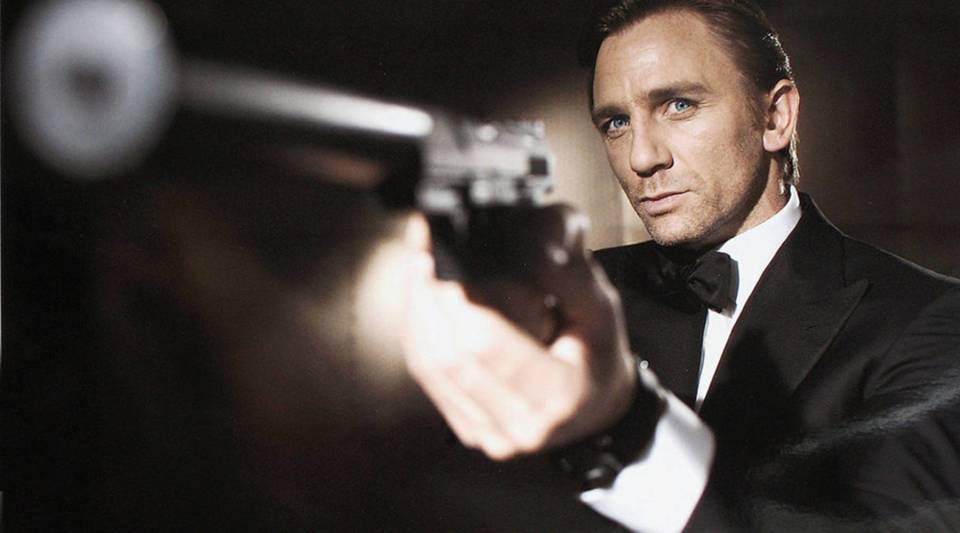 In this undated photo from Eon Productions, actor Daniel Craig poses as James Bond.