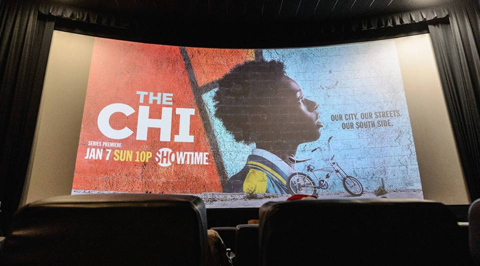 An advance screening of Showtime's 'The Chi' on Chicago's South Side at SMG Chatham in 2017.
