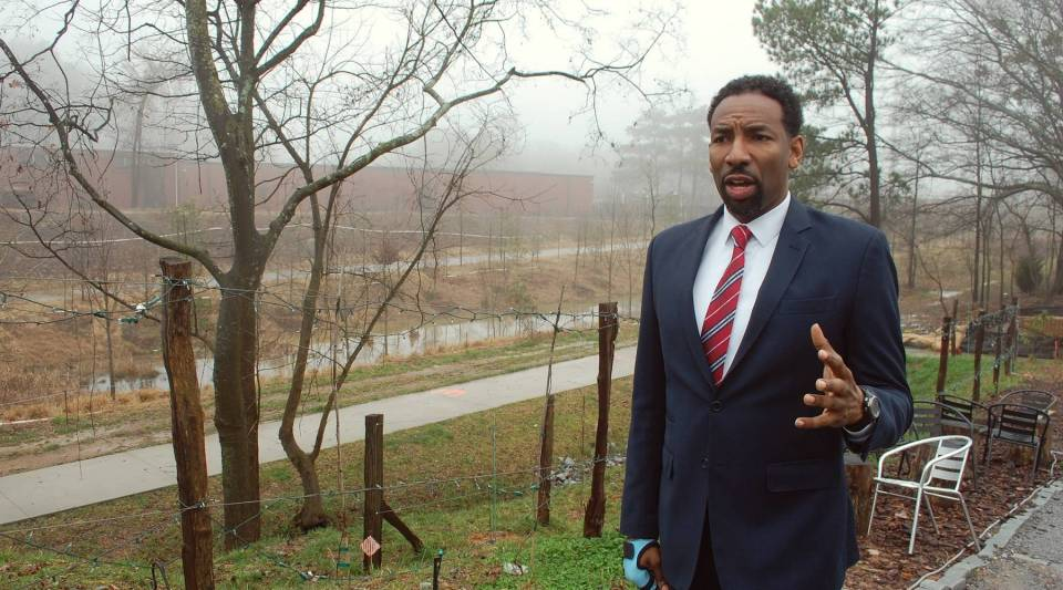 """Atlanta City Council Member, Andre Dickens, who pushed for a policy known as """"inclusionary zoning"""" in a bid to create affordable housing in some of the city's most sought-after neighborhoods."""