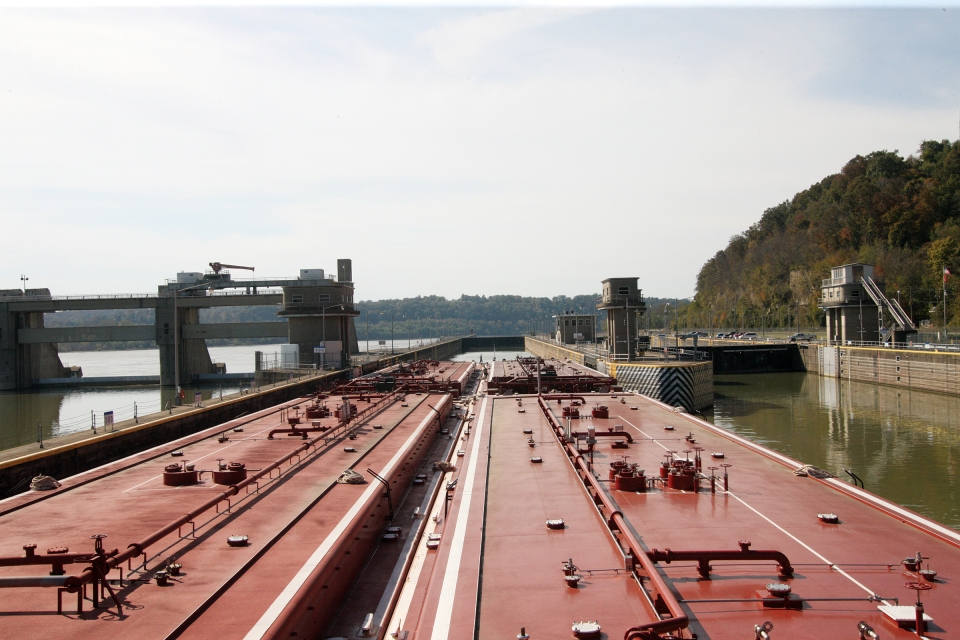 Cannelton Locks on the Ohio River
