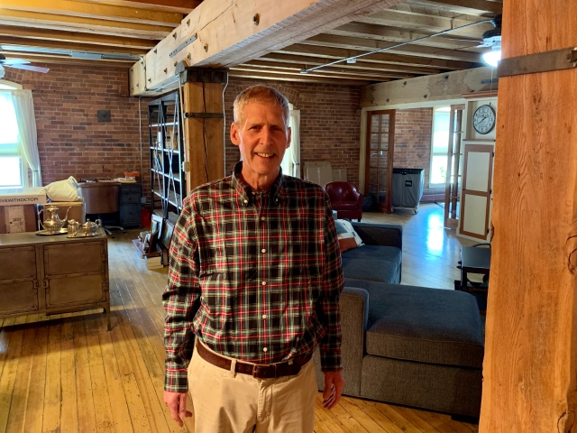 Charles Goldburg, 68, traded a four-bedroom farmhouse in suburban New York for a condo in downtown Denver.