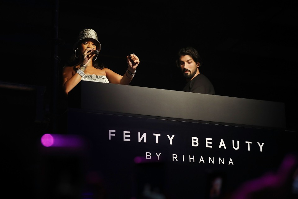 Rihanna attends the Fenty Beauty by Rihanna anniversary event on October 3, 2018 in Sydney, Australia.