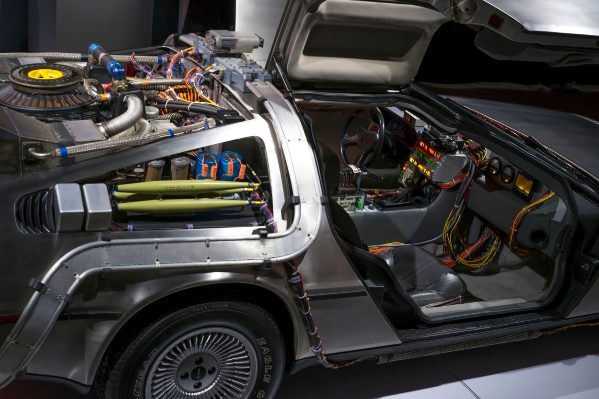 """""""Hollywood Dream Machines"""" exhibit explores sci-fi vehicles used on screen - Marketplace"""