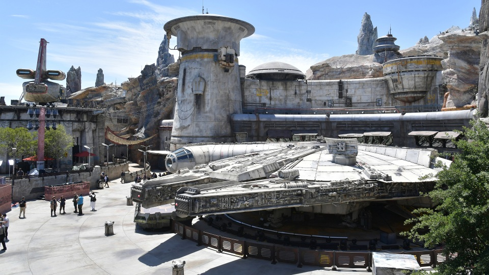 Disneyland's Star Wars: Galaxy's Edge opened to the public Friday at the Anaheim, California, park.