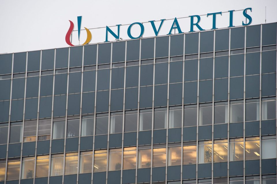 Swiss pharmaceutical giant Novartis' Basel headquarters.