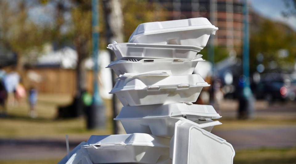 Maine became the first state to ban polystyrene for single-use food and drink containers.
