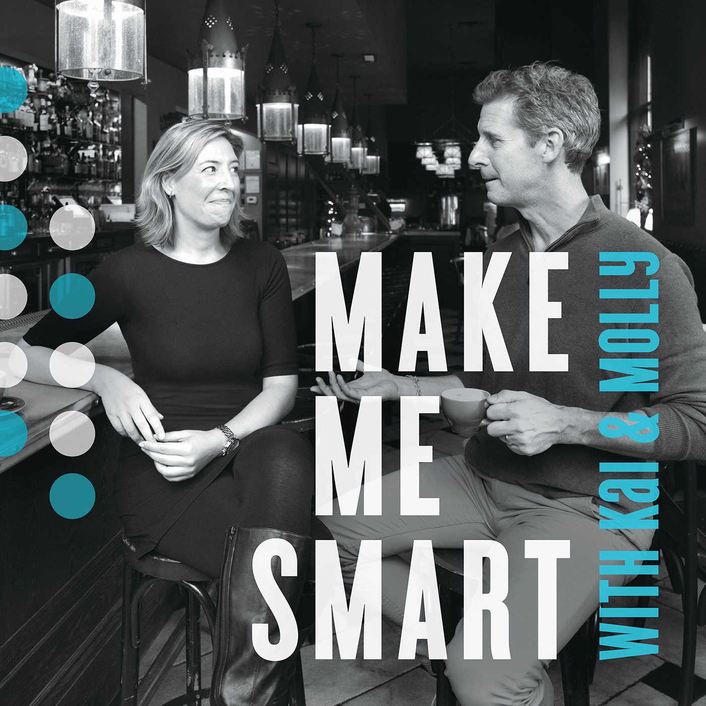 Make Me Smart with Kai and Molly Logo
