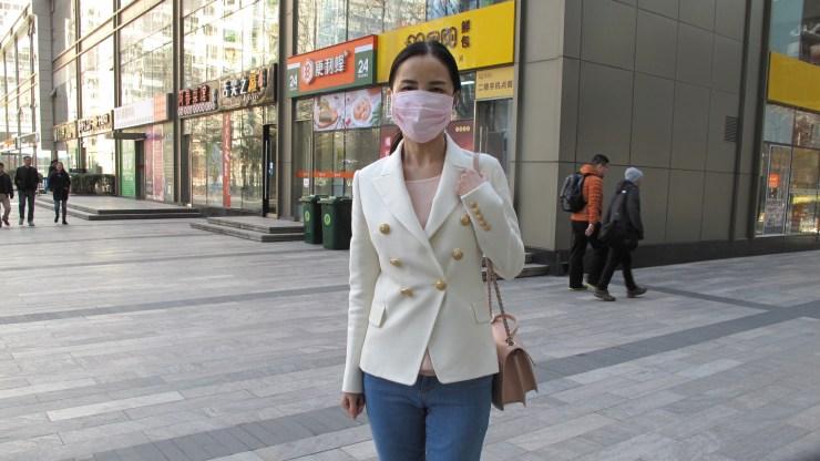 Beijing resident Jessica Feng