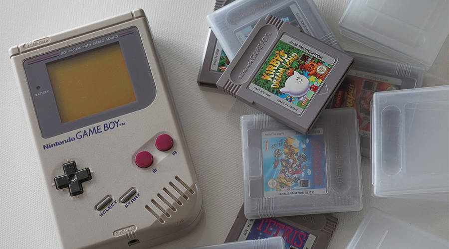 The original Nintendo Game Boy came out in 1989