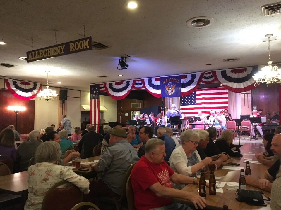 Many of the regulars at The Allegheny Elks Lodge in Pittsburgh had a love/hate relationship with their 65th birthdays.