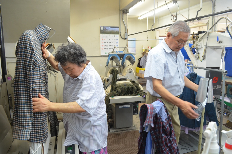 Hyen Sook Kang and Tae Park have owned Sun Dry Cleaners since 1985.