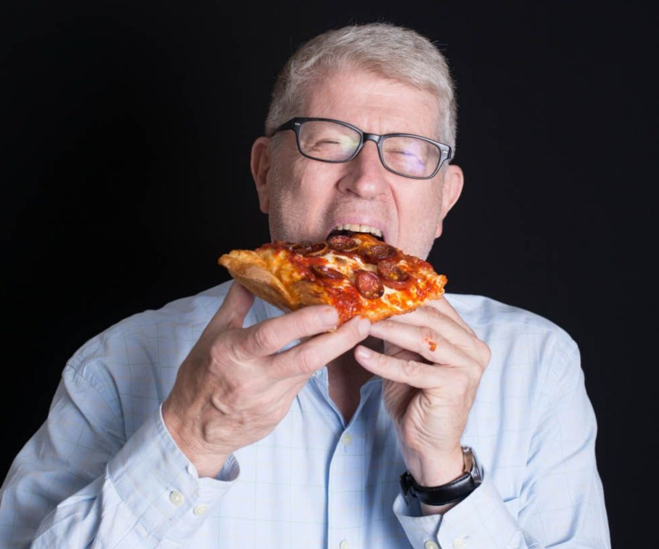 """Ed Levine, creator of Serious Eats and author of the new book, """"Serious Eater: A Food Lover's Perilous Quest for Pizza and Redemption."""""""
