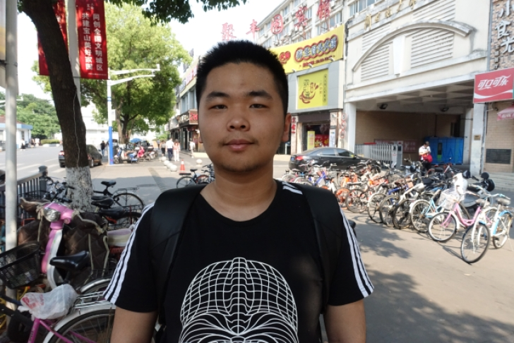 Elio Yu wants to work in the robotics industry after he graduates. But unlike his parents' generation, he doesn't care to make more money. He's fine with making less and having less stress at work.