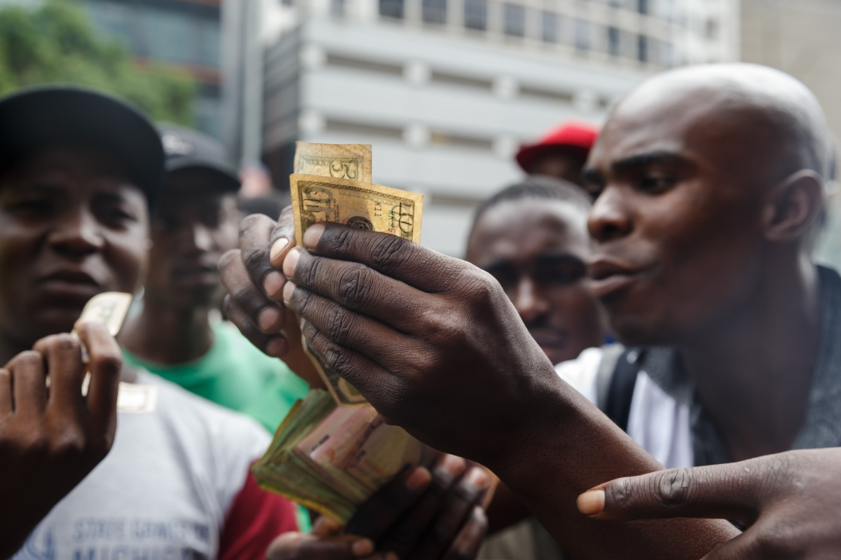 Zimbabwe bans foreign currency - Marketplace