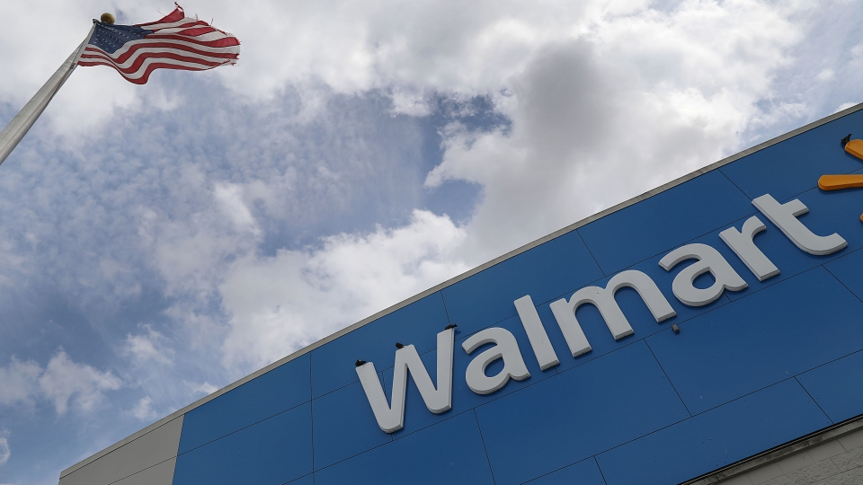 A Walmart store is seen on May 16, 2019 in Miami, Florida.