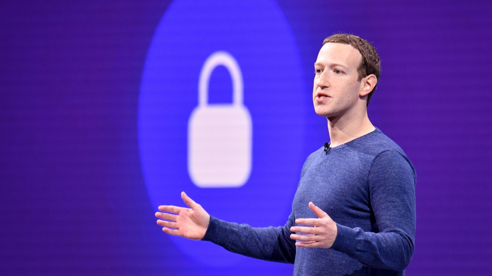 Facebook CEO Mark Zuckerberg speaks during the annual F8 summit in San Jose, California, last year.