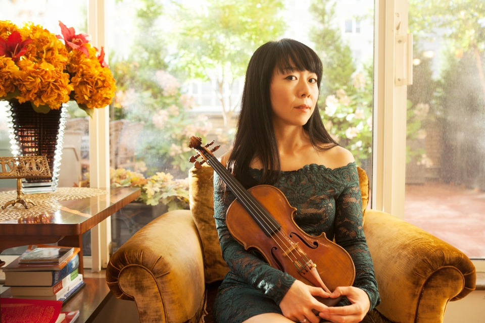 """For violinist Keiko Tokunaga, her instrument is more than just a tool for work. """"It is a part of me,"""" she says."""
